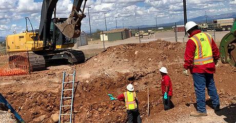 FSI Excavation Work with Front Loader