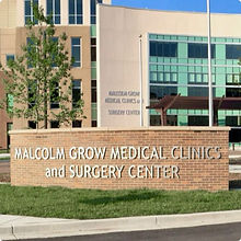 Malcolm Grow Medical Clinic Building at Andrews Maryland