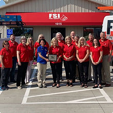 FSI Fire Safety Grand Opening Day Team in Clarksville TN