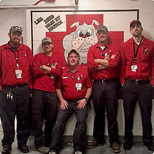 FSI Maintenance and Operations Crew at Military Base