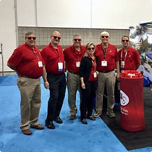 FSI Sales Team at Trade Show Booth