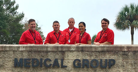 FSI Medical Group Team at Hurlburt Field Florida