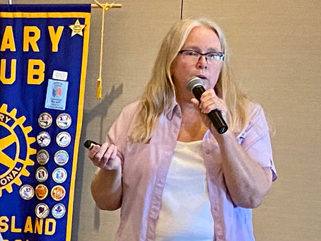 Rotary Recap - 12/18 - Palmetto Trail's Marie Butler