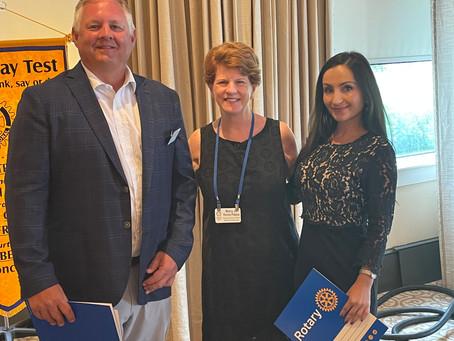 7/7/2021 - Rotary Recap - President Romeo Key Initiates
