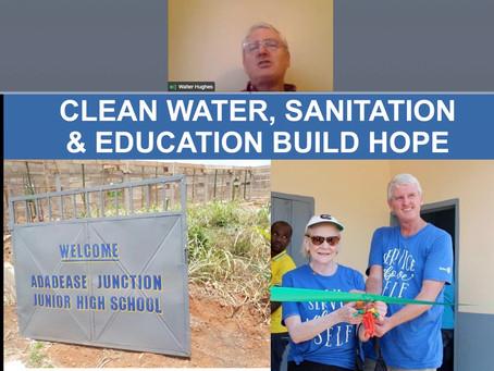 Rotary Recap - 5/20 - Water Hughes - Rotarian and Humanitarian