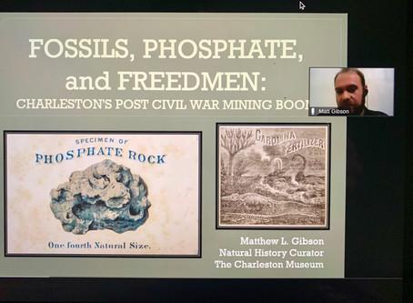 Rotary Recap - 8/5 -Matthew Gibson - Charleston Museum