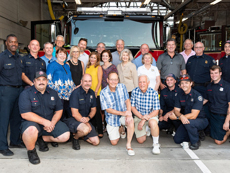 Rotary Recap - 10/2 - Field Trip to DI Firehouse