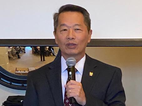 Rotary Recap - 11/20 - Andrew Hsu, President College of Charleston