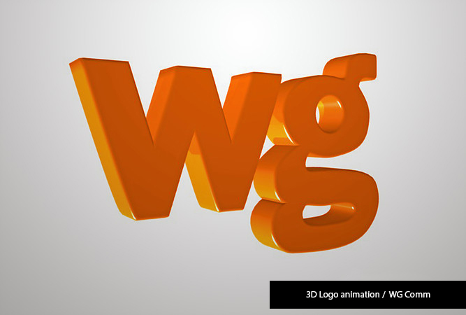 3d logo wg