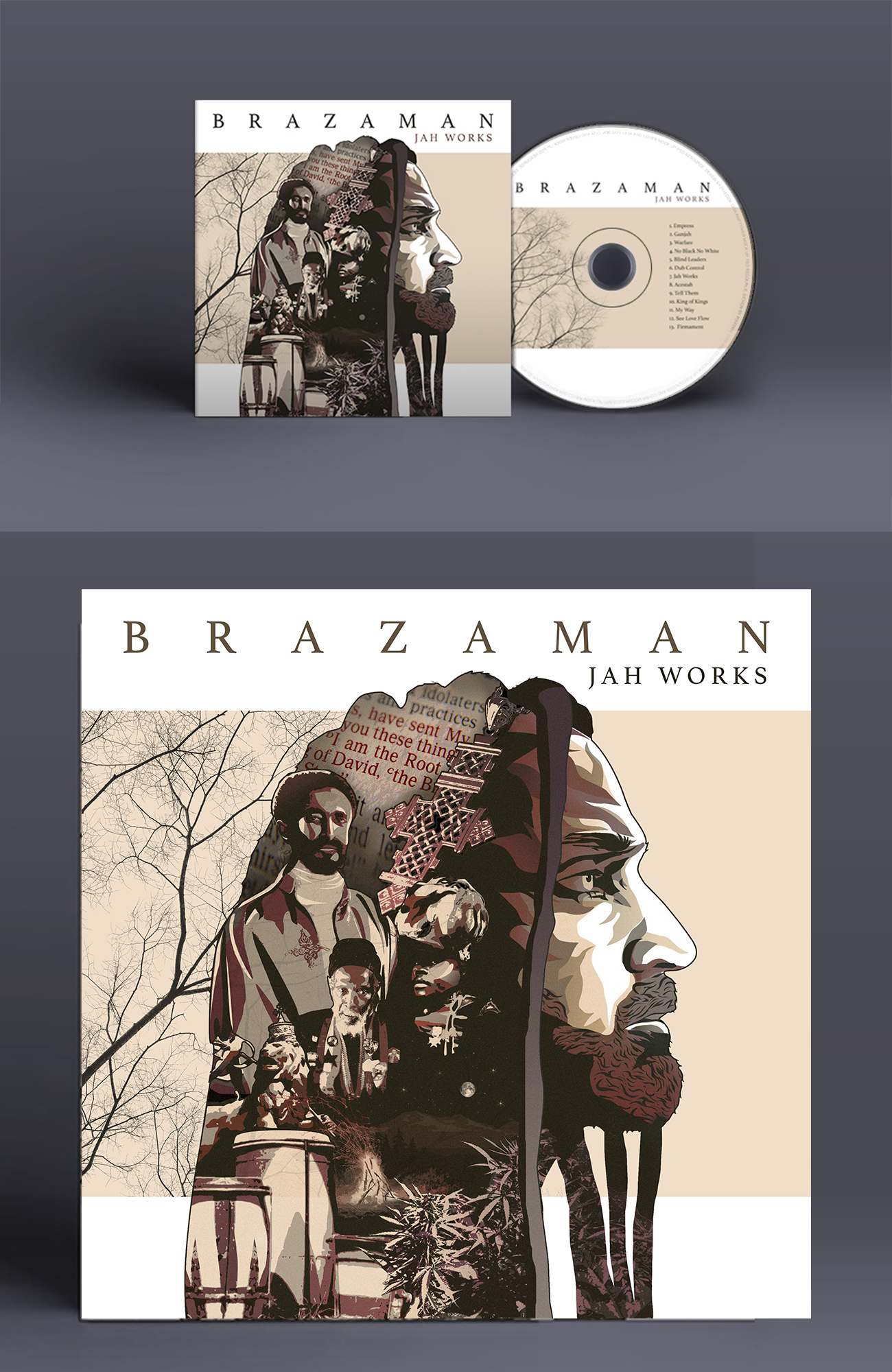 Brazaman Cd Cover