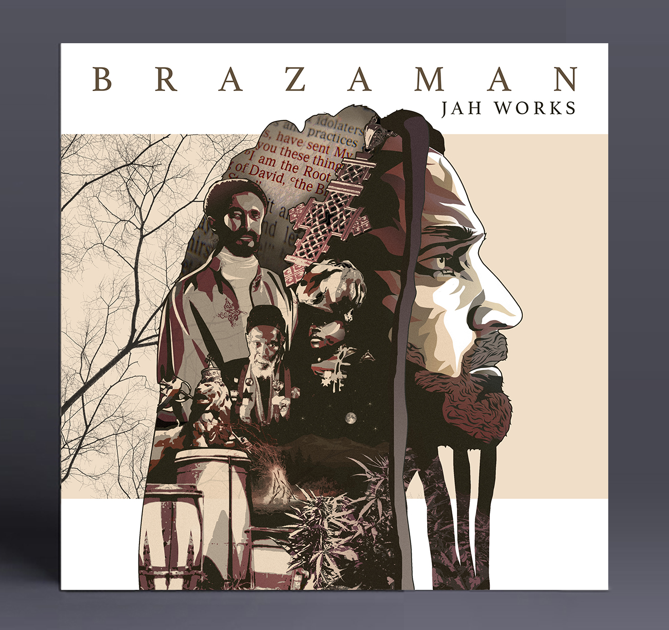Brazaman Cd Cover detail