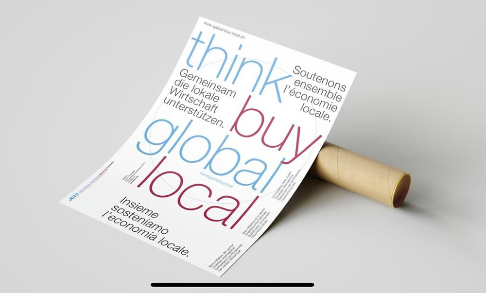 Think Global Buy Local JCI Schweiz