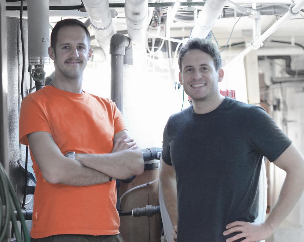Lucky Shrimt Gründer Andreas Zaugg (links) und Alexander Dubsky (rechts)