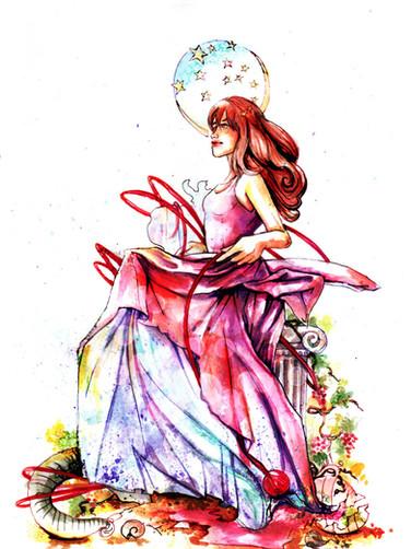 Goddess of the Stars