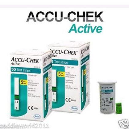 Accu-chek Active Glucometer Strips