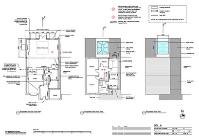 QN Design Architectural Services: Planning Permission Drawings - William Road, Long Buckby