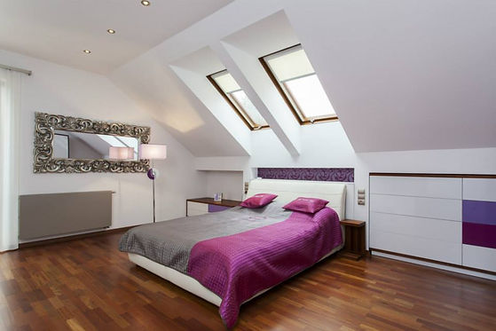 Inspirational QN Design of a Contemporary Loft Conversion with Roof Lights