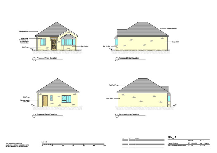 QN Design Architectural Services: New Buil - Hill Farm, Rugby