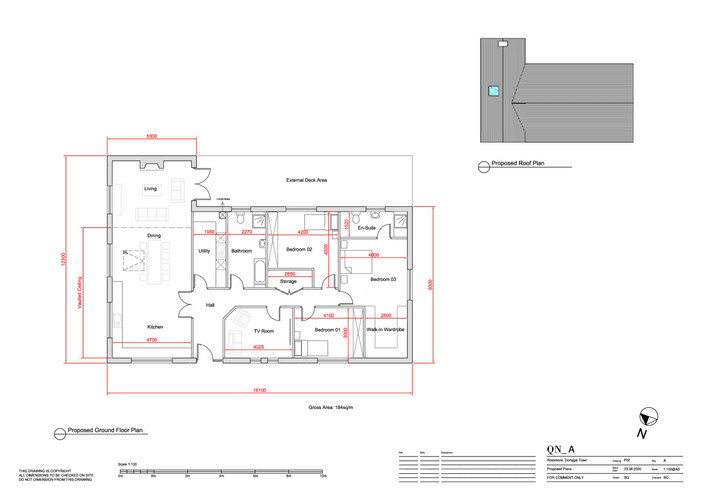 QN Design Architectural Services: New Build - Laghey, Donegal