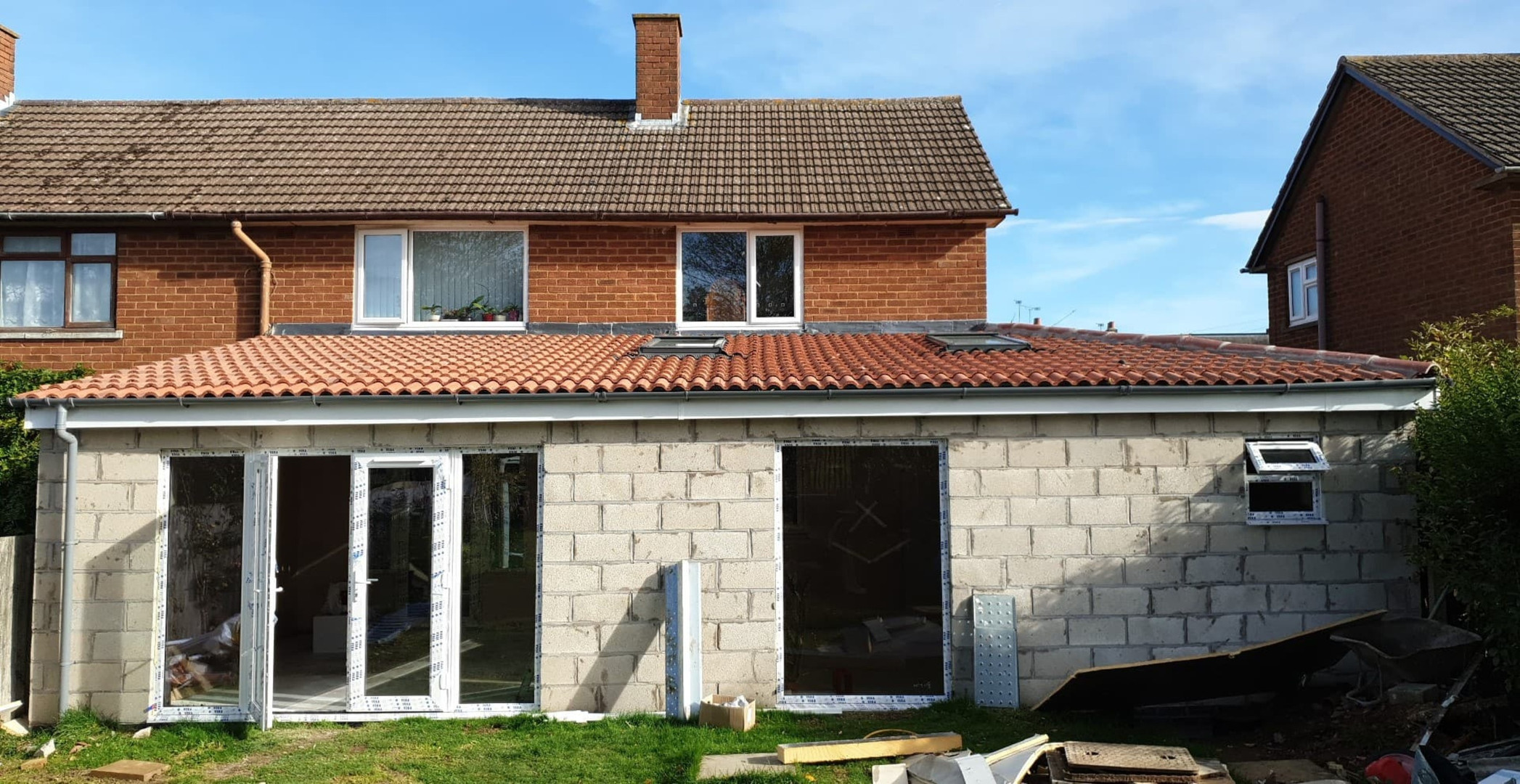 QN Design Architectural Services: Wrap Around Extension - Lawford Road, Rugby