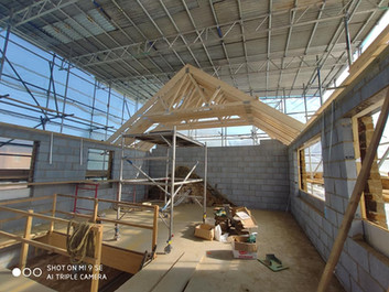QN Design Architectural Services: Barn Conversison and First Floor Extension - Chard House, Long Buckby