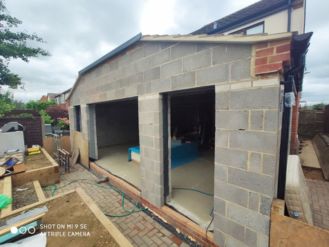 QN Design Architectural Services - Rear and Side Extension - William Road, Long Buckby