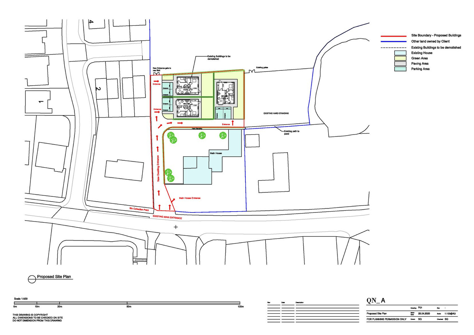 QN Design Architectural Services: New Build Hill Farm, Rugby