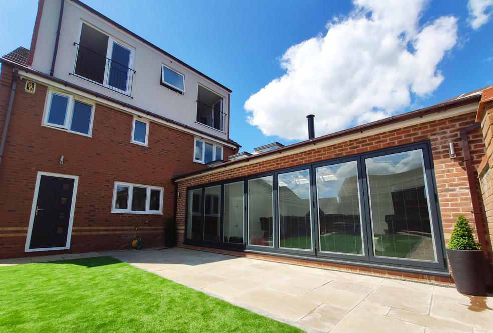 QN Design Architectural Services: Loft Conversion and Rear Extension - Fallowfields, Crick