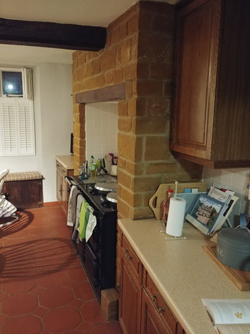 QN Design Architectural Services: Existing Kitchen - Chard House, Long Buckby