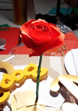 3Д роза для анимации