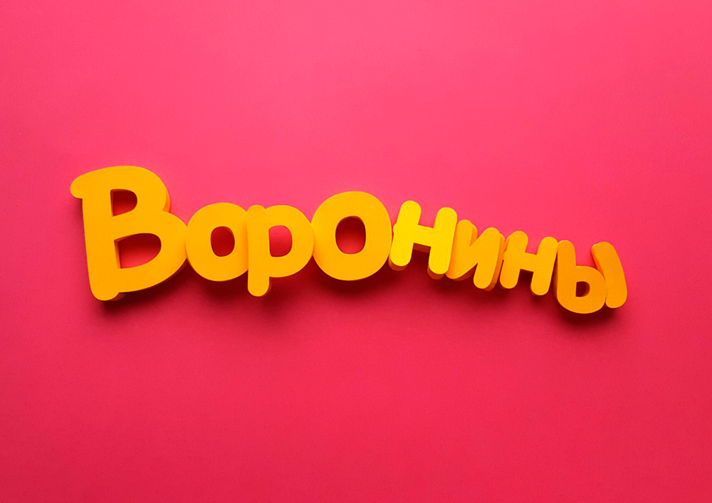 Воронины -лого
