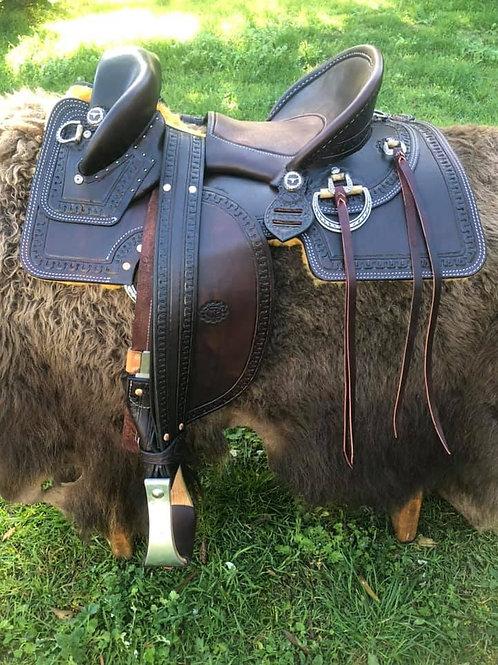 Stock / Fender saddle - half seat