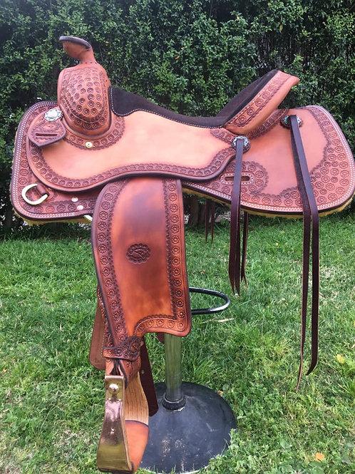 Western saddle - reining