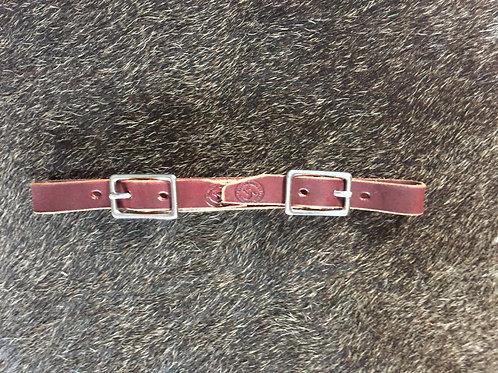 Curb strap - double buckle