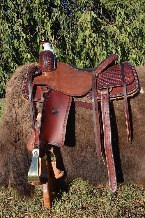 Western Saddle - Ranch Cutter