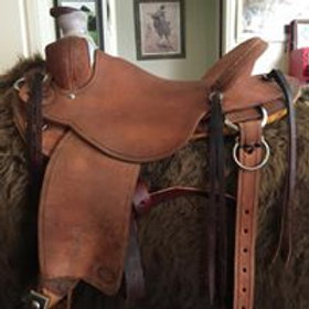 Modified Association Western Saddle