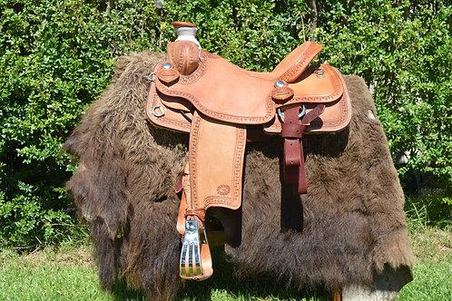 Western saddle - Will James Association
