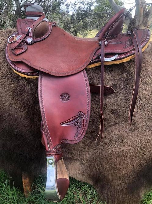 Western saddle - Wade