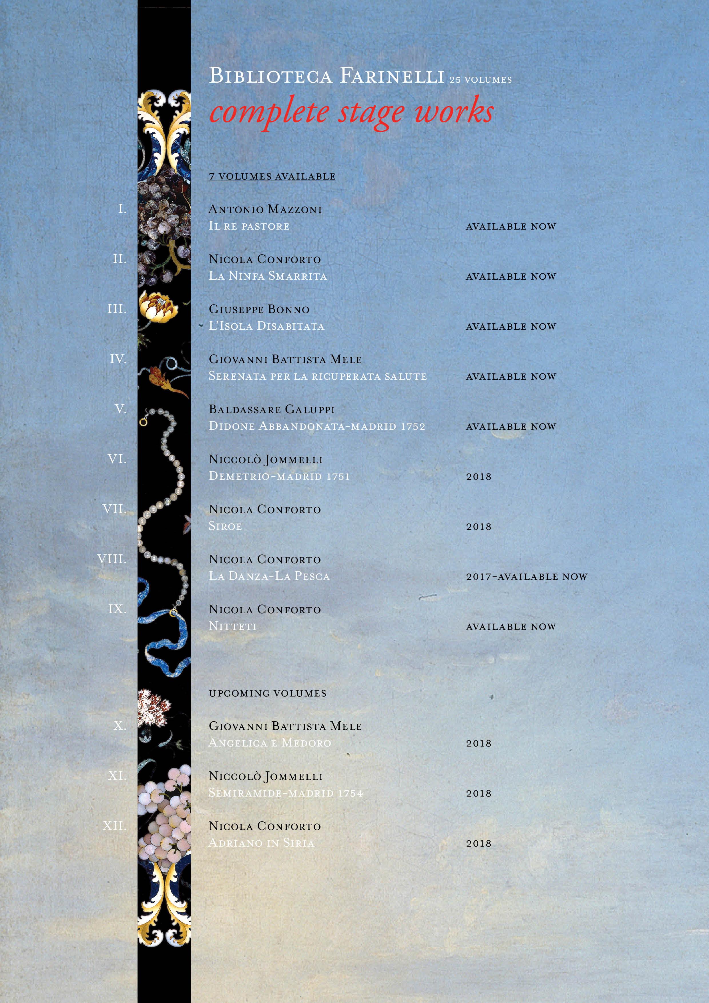 BIBLIOTECA FARINELLI
