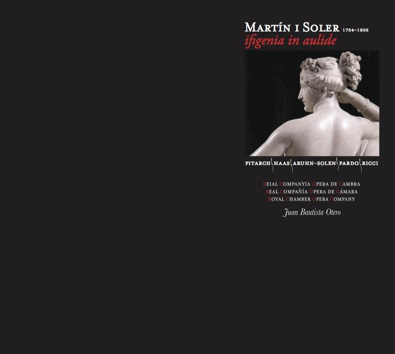 MARTIN I SOLER-IFIGENIA IN AULIDE