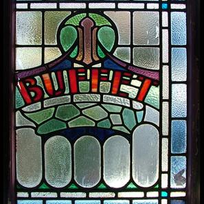 Buffet Panel - before restoration