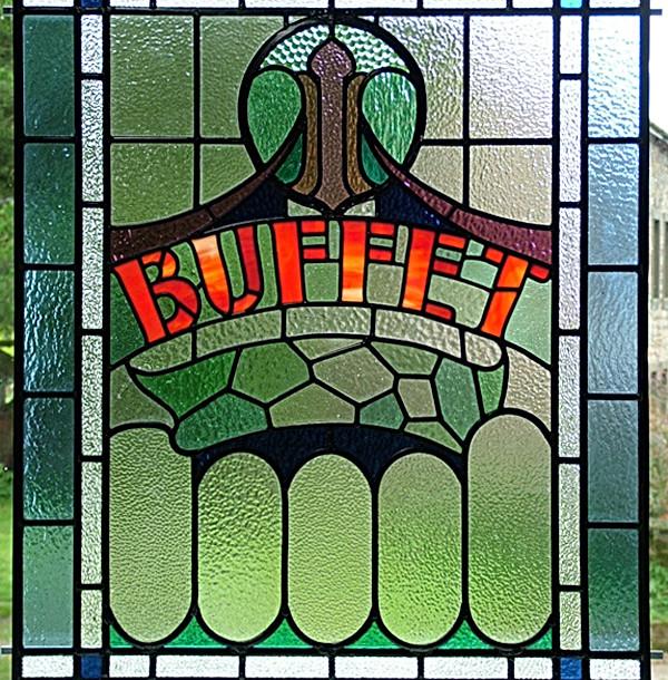 Buffet Panel After Restoration
