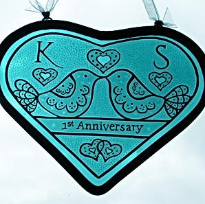 Love Bird Series - Wedding Anniversary Gift