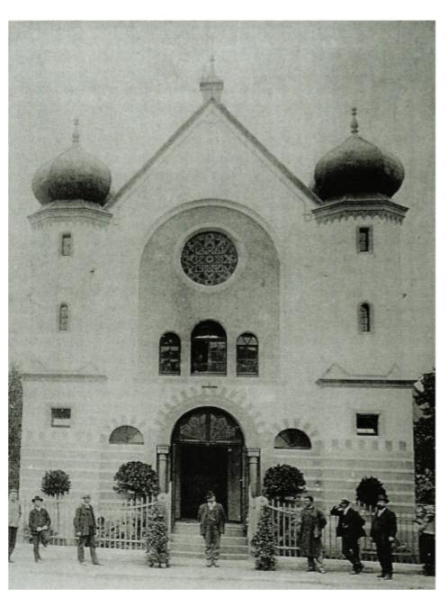 Jüdische_Synagoge_1907,_in_Brand_gesteckt 1938