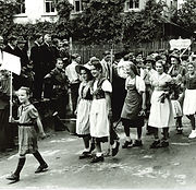 Erstes Kinderfest nach dem 2. Weltkrieg,