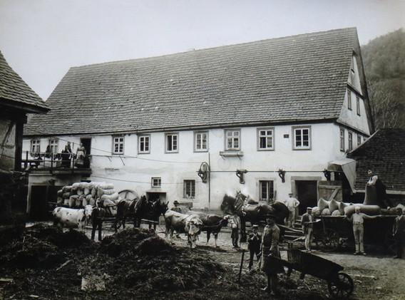 Mühle Kocherstetten, 1901