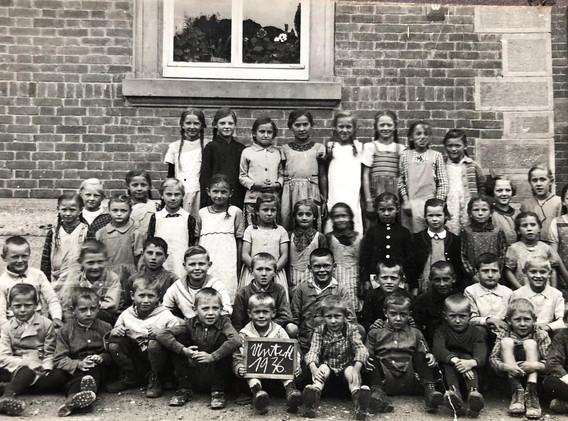 5. Eine Schulklasse von 1936