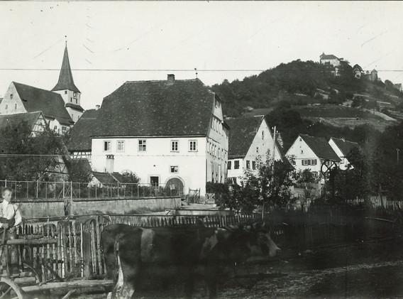 Ko-45.1.1_Schloss_Kirche_Amtshaus_Brücke