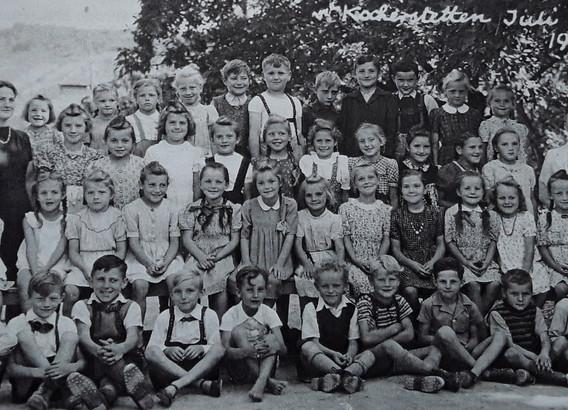 Klassenbild von 1948