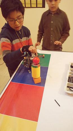 niños en robotica